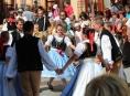 Postřelmovská Markovice na folklorním festivalu v Šumperku oslavila šedesátiny