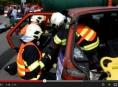 Hasiči Olomouckého a Zlínského kraje soutěžili ve vyprošťování z havarovaných vozidel