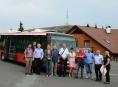 Ekologický autobus vyzkoušeli Jeseníkách
