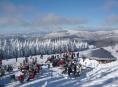 Ski areál Kouty otevírá tříkilometrovou sjezdovku