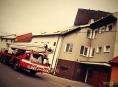 Dvě utržené střechy během čtvrtka v Olomouckém kraji