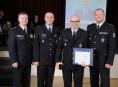 Sedmnáct nejlepších policistů Olomouckého kraje převzalo ocenění