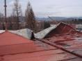 Hasiči na Jesenicku likvidují následky silného větru