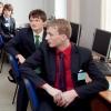 V popředí student Jakub Zárybnický           zdroj foto: OK4Inovace