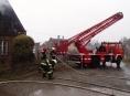 U dvou požárů na Jesenicku zasahovali také polští hasiči