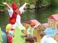 FOTO:Splutí Desné na atraktivních plavidlech v Sudkově