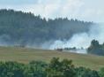 V Olomouckém kraji bylo v sobotu 5 výjezdů kvůli ohni