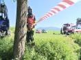 Druhý den zasahují hasiči v domě, kde bylo nalezeno ohořelé tělo