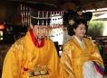 Korejská dvojice tančila na Šumpersku v krojích za 60 tisíc dolarů