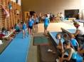 V Šumperku se konalo týdenní soustředění malých gymnastů