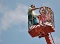 Jesenické náměstí můžete shlédnout z 16 metrové výšky