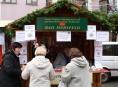 Vánoční trhy na Točáku v Šumperku