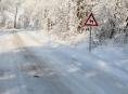 Náledí a vítr komplikují situaci v Olomouckém kraji
