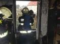 Oheň zničil dvoupokojový byt v Zábřehu
