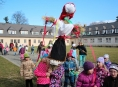 Návštěvníci šumperského muzea vynesli Smrtku a přivítali jaro
