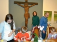 V muzeu se děti připravovaly na Velikonoce