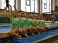 Šumperské gymnastky mají za sebou první závod letošního roku