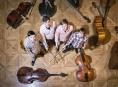 Kontrabasové kvarteto v kostele sv. Barbory