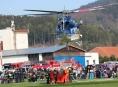 Hašení z helikoptéry! Dobrovolní hasiči budou cvičit na šumperském letišti