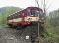 Na Hanušovicku vykolejil osobní vlak