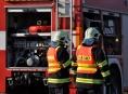 Hasiči na Mohelnicku likvidovali požár lokomotivy