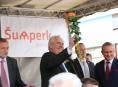 Co vše zaznělo na mítinku v Šumperku s prezidentem Milošem Zemanem