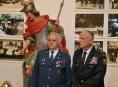 Sv. Florián stráží výstavu hasičů v Šumperku