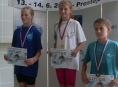 Zábřežská plavkyně Iva Gieselová získala zlato