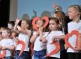 Děti z Veselé školky roztančily šumperské divadlo