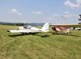 U Nového Malína se srazila dvě letadla