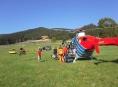 Na Dolní Moravě se těžce zranil paraglidista