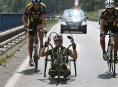 Odvážní cyklisté pojedou náročnou horskou časovku na Dlouhé stráně