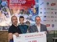 Závodníci Bobr Cupu pomohli nemocnému chlapci z Olomoucka