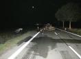 Čelní srážka osobních aut mezi Libivou a Vlachovem