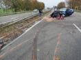 Vážná nehoda u Mohelnice zkomplikovala dopravu