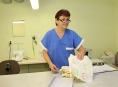 Šička Jitka Pospíšilová pracuje v nemocniční prádelně od roku 1986