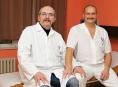 Lékaři Dušan Fügner a Martin Kaňa opět odstartovali šumperský Movember