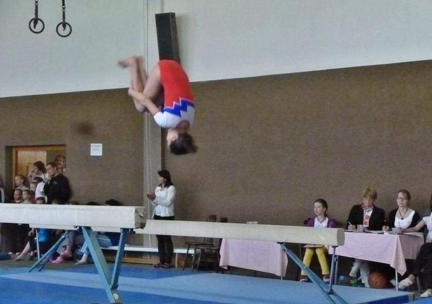 Memoriál Petry Urbáškové -salto Vanesy
