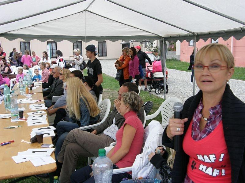 Šumperský hafan 2012 a Olga Kaštická