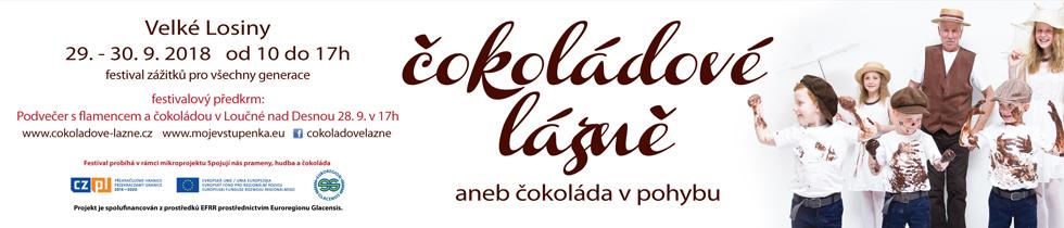 čokoládové lázně