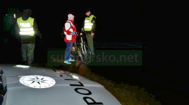 Police kontrolovala chodce a cyklisty na Postřelmovsku