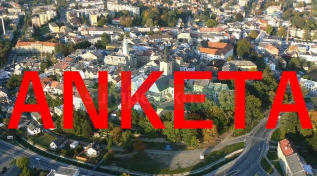 Město Šumperk nabídlo občanům ANKETU
