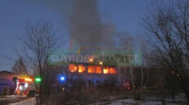 K požáru v Unčovicích vyjížděli hasiči dvakrát