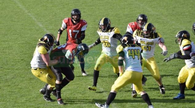 Americký fotbal: Šumperk vs Zlín 14:7