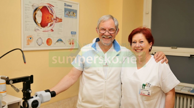 Čtvrt století vede primář Ivan Schlemmer oční oddělení šumperské nemocnice