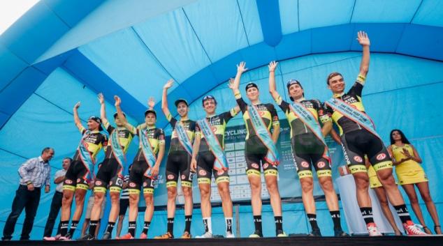 V úvodní týmové časovce Czech Cycling Tour zvítězil tým Elkov Author