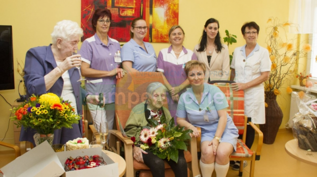 Nejstarší občanka Olomouckého kraje oslavila 107. narozeniny