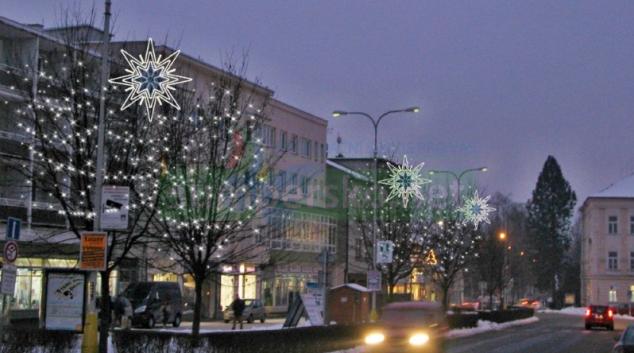 Zábřeh prozáří nová vánoční výzdoba