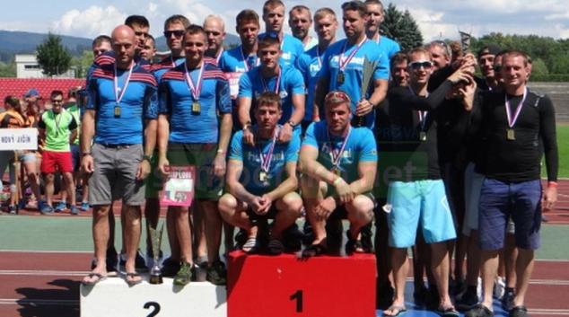 Šumperští hasiči z Třince přivezli bronz