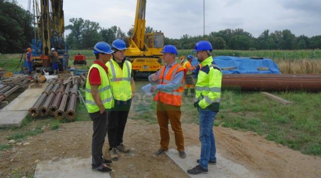 Otevřením nového vrtu v prameništi Lesnická získá region další zdroj kvalitní pitné vody